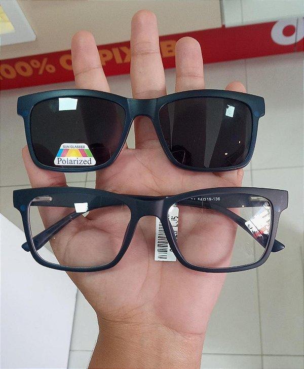 Goglass clip-on + lente Policarbonato filtro azul