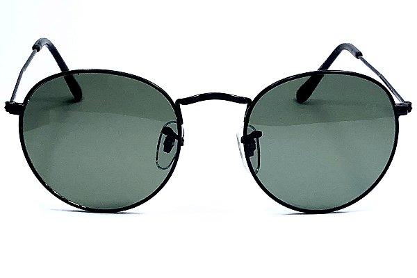 GOGLASS 6139  E14006 Oculos de Sol Metal redondo
