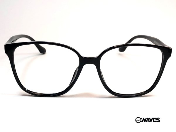 WAVES  5935 OCULOS DE GRAU ACETATO PRETO