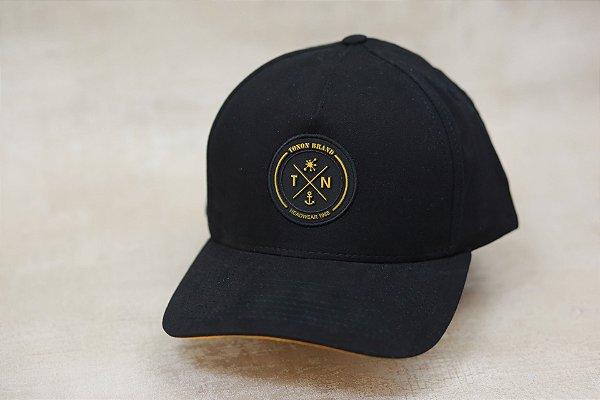 Boné Tonon Brand Black