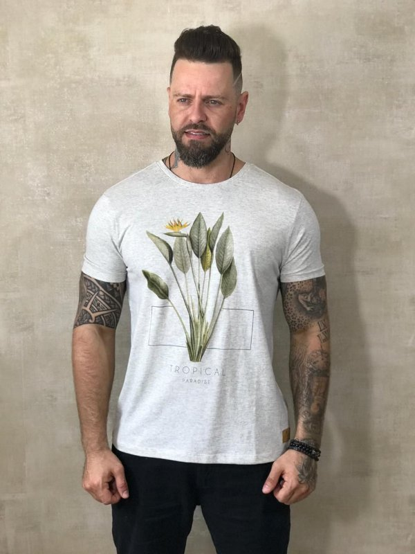 Camiseta Tonon Brand Tropical Paradise