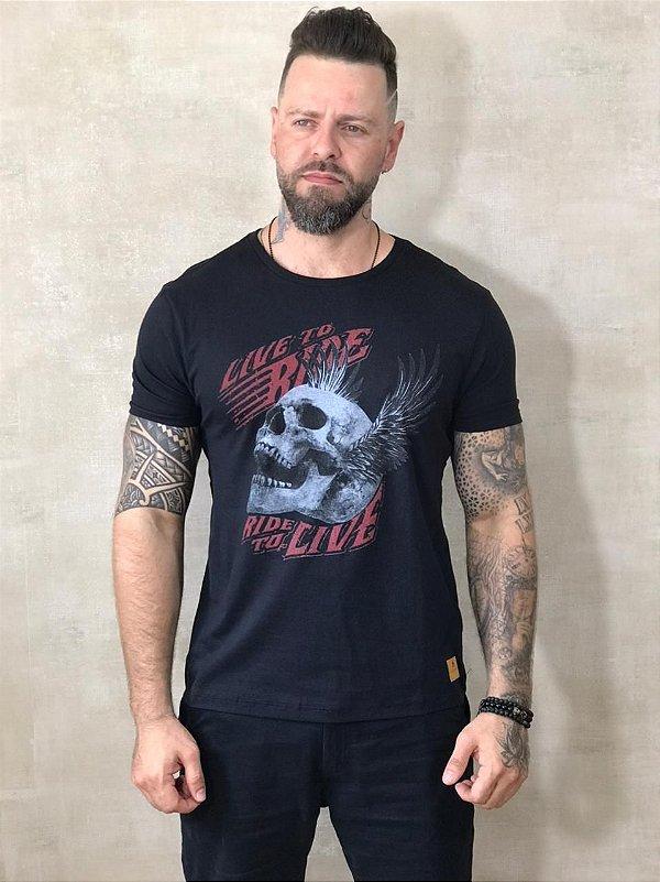 Camiseta Tonon Brand Ride To Life