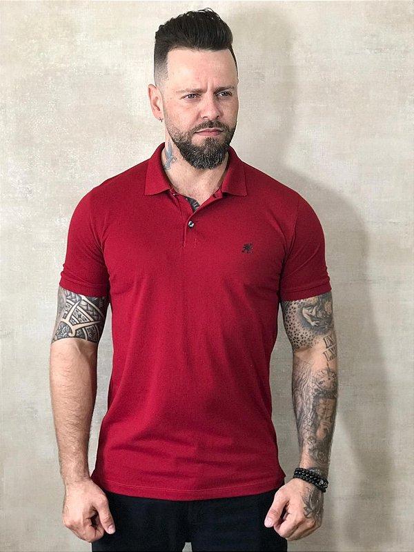 Polo Tonon Basic Vermelha