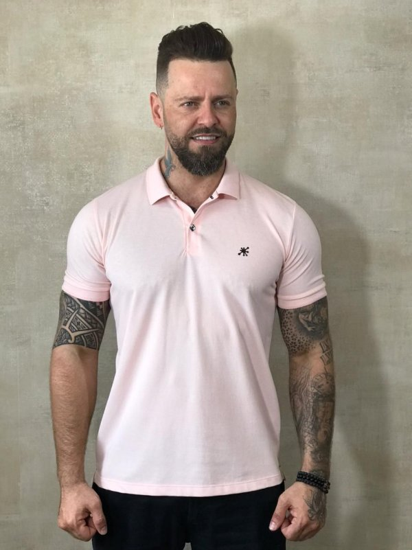 Polo Tonon Basic Rosa