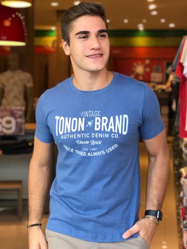 CAMISETA TONON BRAND AUTHENTIC