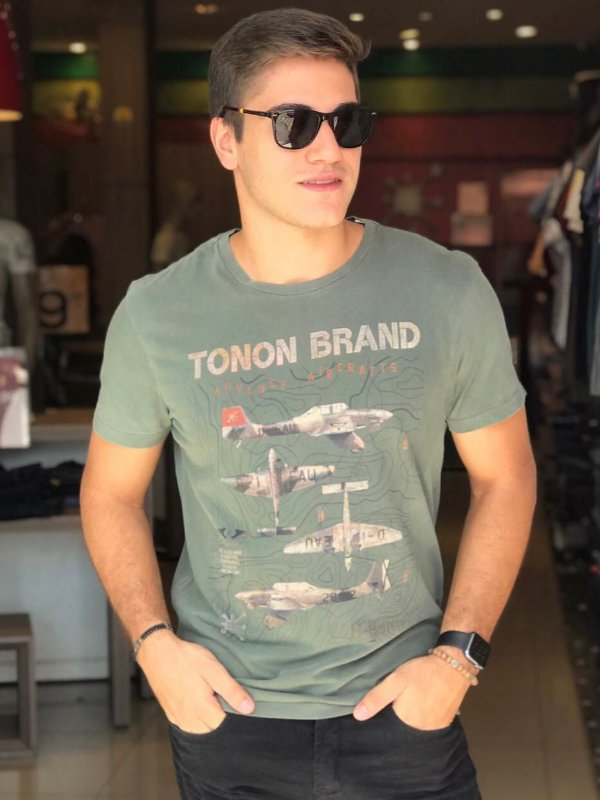 CAMISETA TONON MILITARY AIRCRAFTS