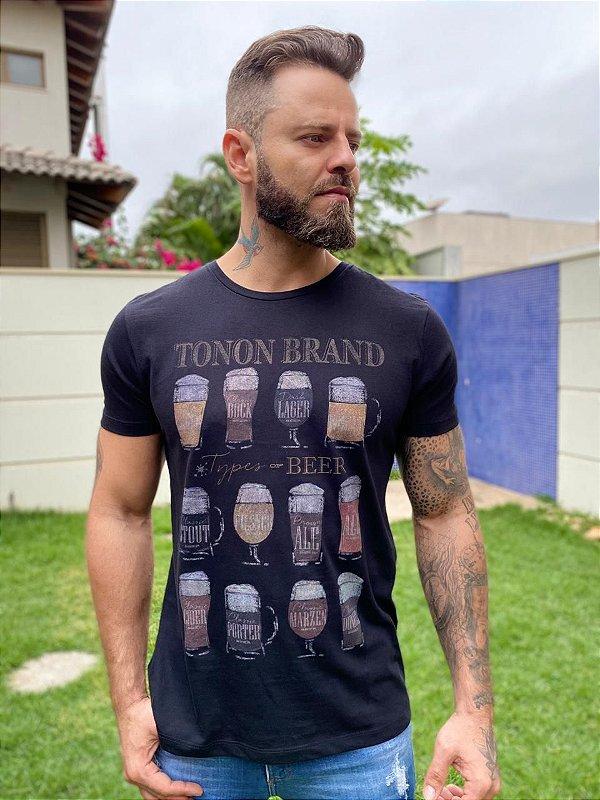 CAMISETA TONON TYPES OF BEER