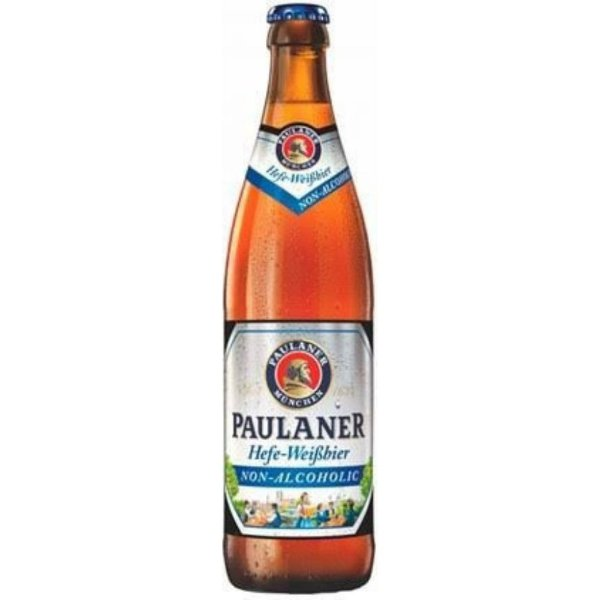 Cerveja Sem Álcool Paulaner Hefe Weissbier Alkoholfrei 500ml