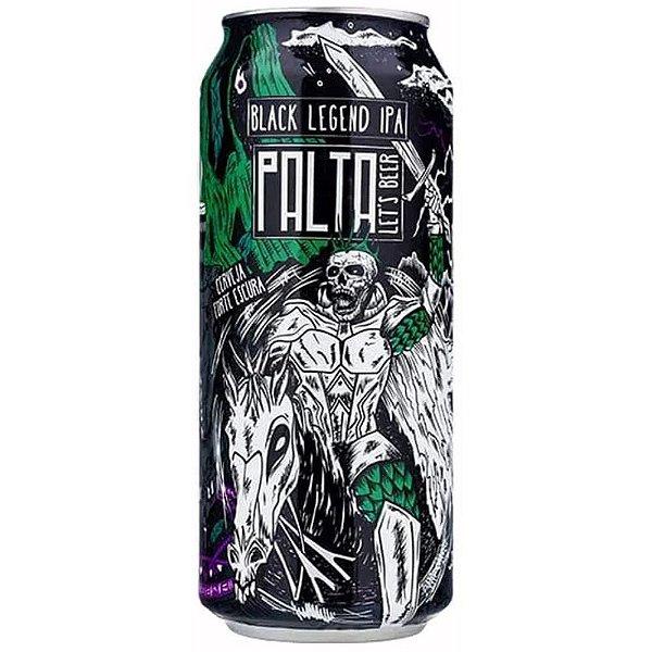 Cerveja Palta Black Legend IPA 473ml