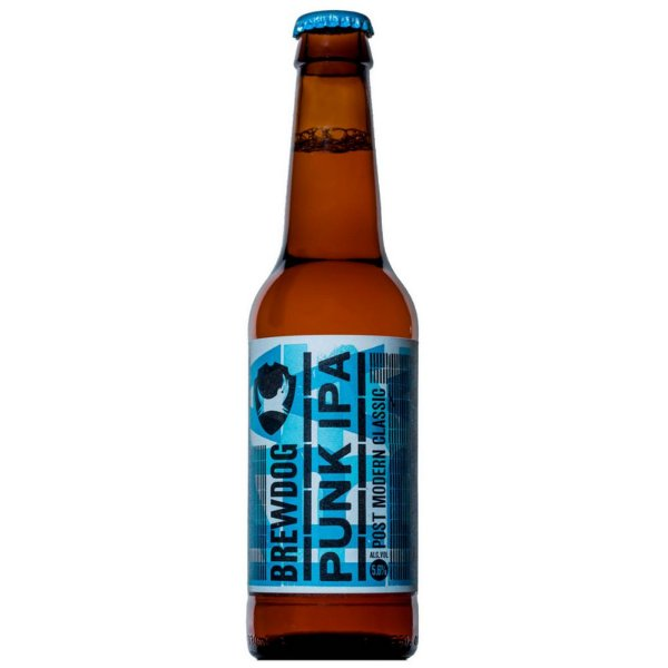 Cerveja BrewDog Punk IPA Garrafa 355ml