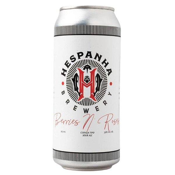 Cerveja Hespanha Berries N Roses Sour Lata 473ml