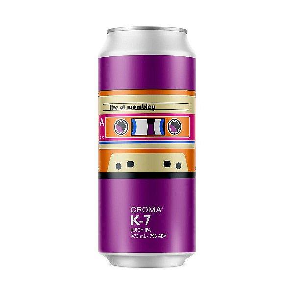 Cerveja Croma K-7 Juicy IPA Lata 473ml