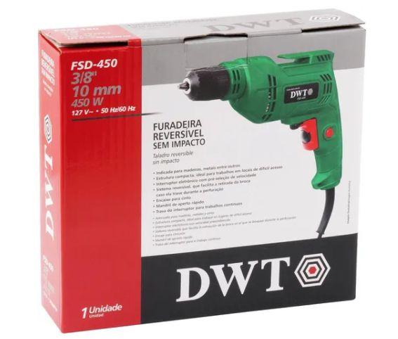 FURADEIRA 3/8 450W FSD450 (BM450) 220V DWT