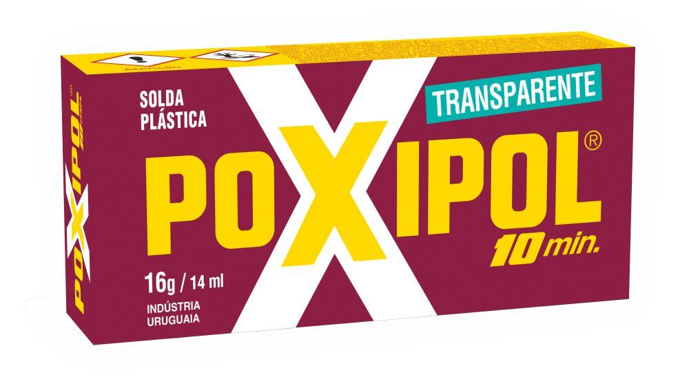 POXIPOL TRANSPARENTE 16g