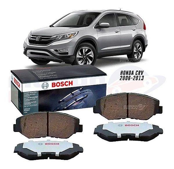 Pastilha Freio Dianteira Bosch Ceramica Honda Crv 07 Até 13