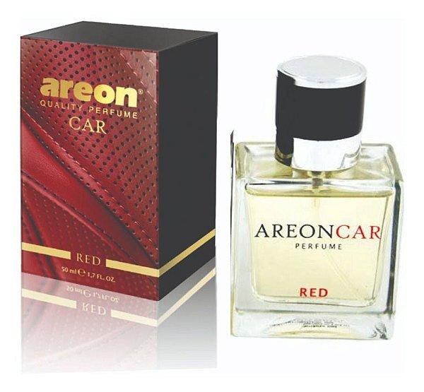 Areon Aromatizante Automotivo Red 50ml Perfume + Difusor