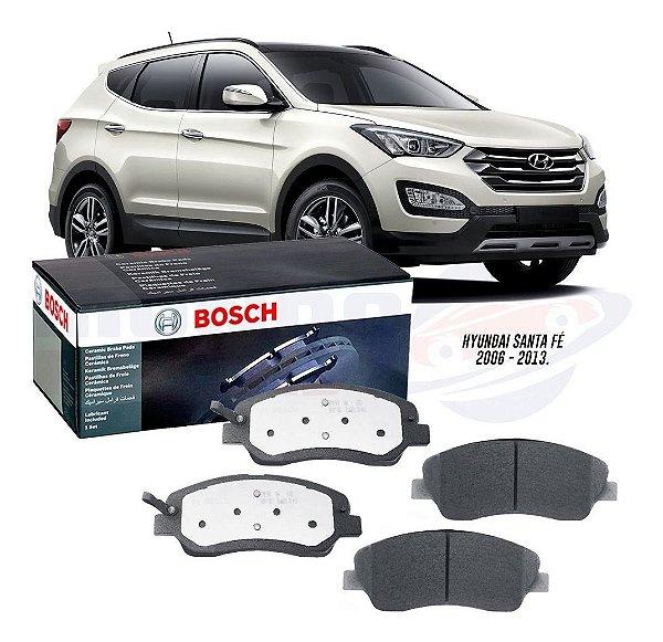 Pastilha Freio Cerâmica Bosch Hyundai Santa Fé 2006 A 2015