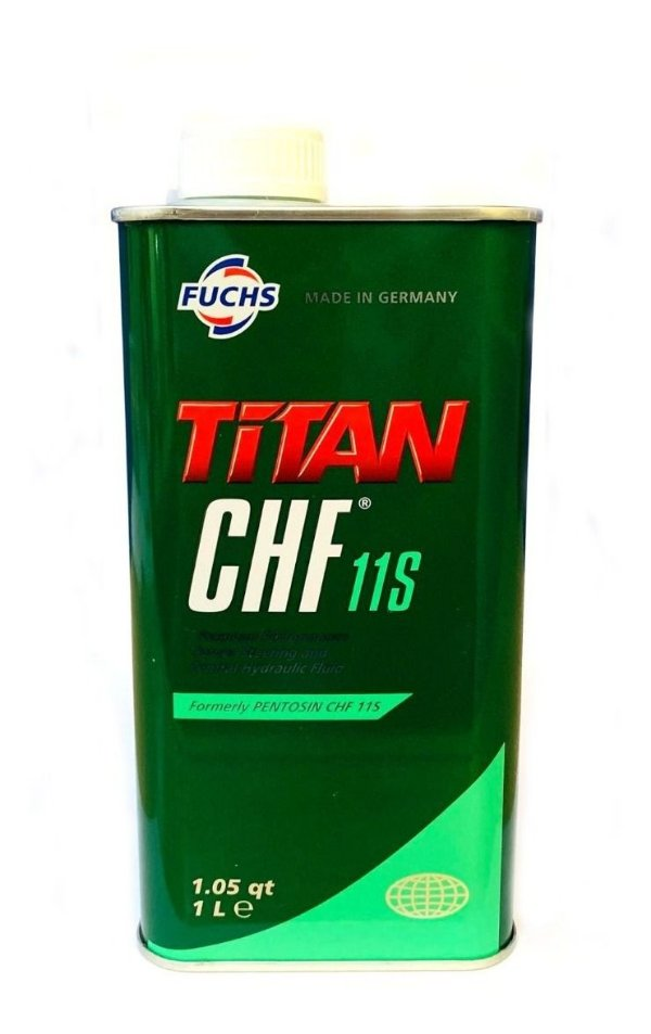 Fluído Hidráulico Sintético Titan Chf 11 Fuchs 1l