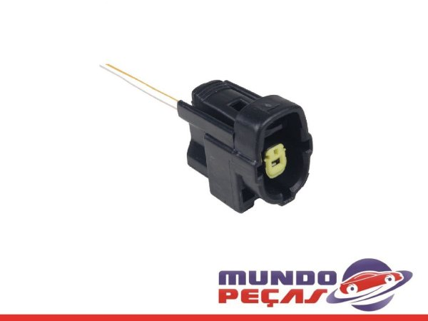 Chicote Sensor Temperatura do Óleo Vw/ford - 1 Via - Fêmea