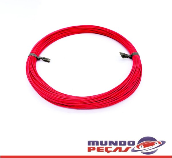 Fio Cabinho Flexível Cobre 0,35mm Vermelho Tc Cabos