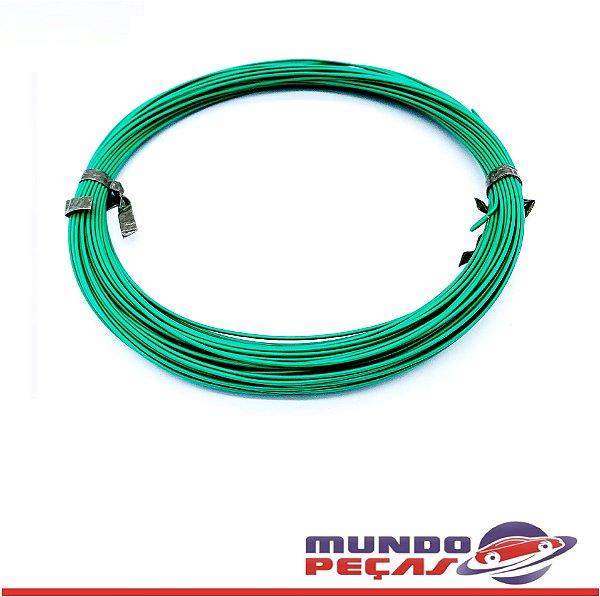 Fio Cabinho Flexível Cobre 0,35mm Verde Tc Cabos