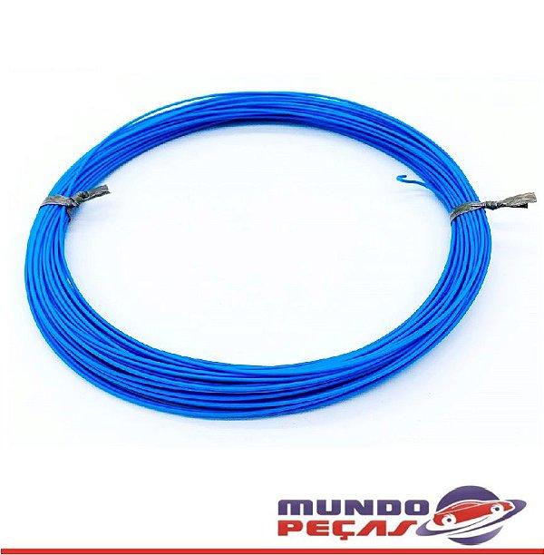 Fio Cabinho Flexível Cobre 0,35mm Azul Tc Cabos
