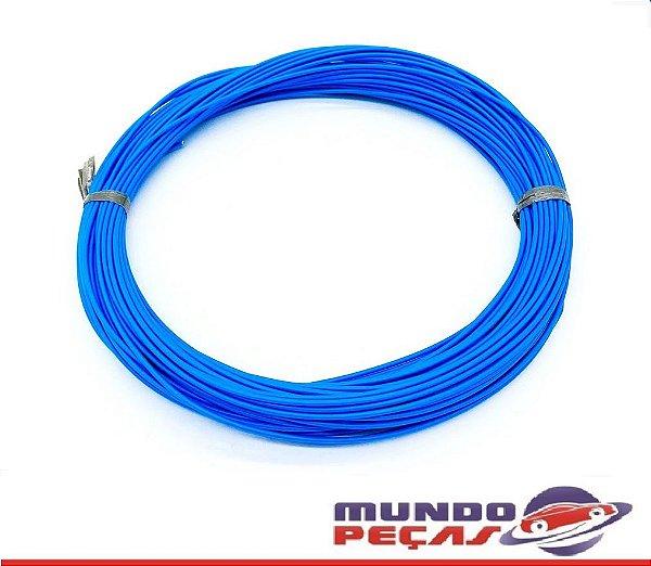Fio Cabinho Flexível Cobre 0,75mm Azul TC Cabos