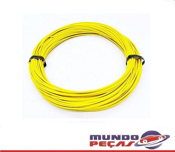 Fio Cabinho Flexível Cobre 1,00mm Amarelo TC Cabos