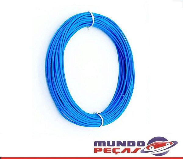 Fio Cabinho Flexível Cobre 1,50mm Azul TC Cabos