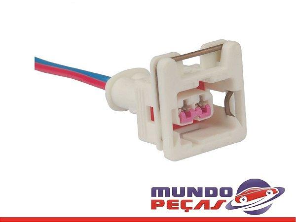Chicote do Sensor de Rotação Fiesta Ecosport Courier - 2 Vias - Fêmea