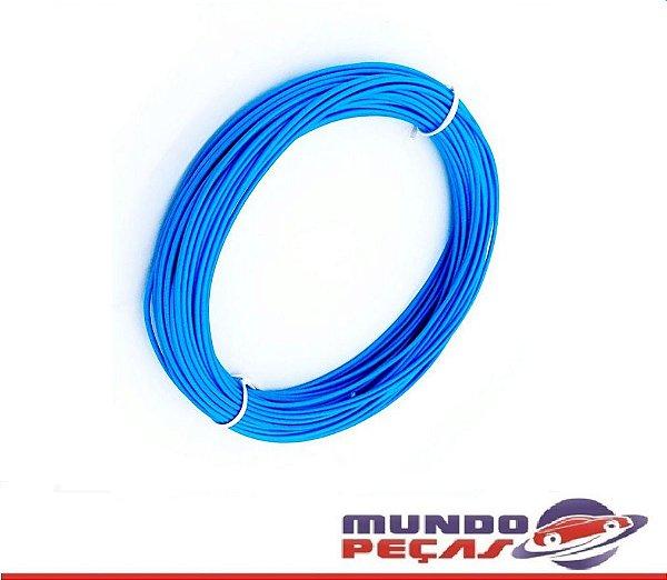 Fio Cabinho Flexível Cobre 2,50mm Azul Tc Cabos