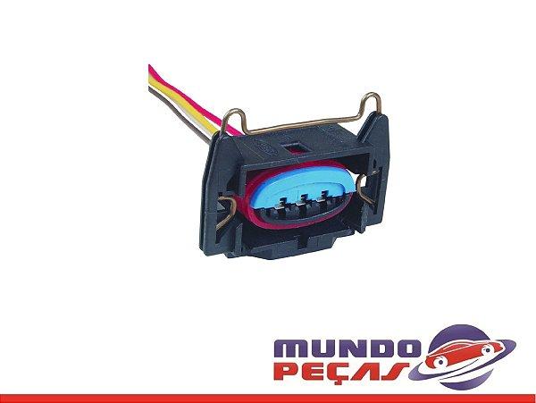 Chicote do Sensor da Borboleta Tps Ignição Fiesta/courier - 3 Vias - Fêmea