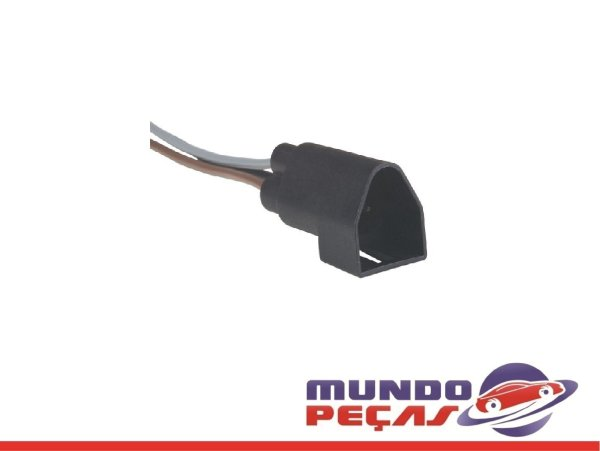 Chicote do Sensor da Luz de Ré Ford Ecosport - 3 Vias - Macho