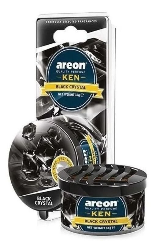 Aromatizante Carro Areon Ken Black Crystal Aroma Automotivo