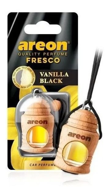 Areon Aromatizante Automotivo Fresco Vanilla Black 4ml