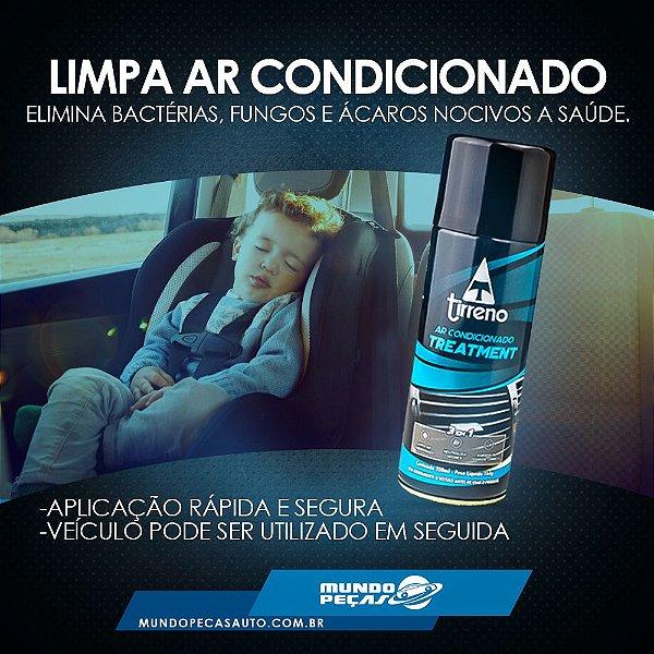 Tirreno 3 Em 1 Limpa Ar Condicionado Automotivo Higienização