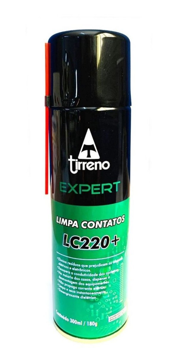 Spray Limpa Contatos Eletronicos Lc220+ Tirreno
