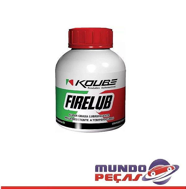 Super Graxa Lubrificante Firelub Koube - 200ml