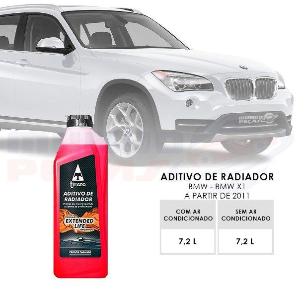 Kit Aditivo Radiador Original Bmw 328i Tirreno Pronto Uso 7 LITROS