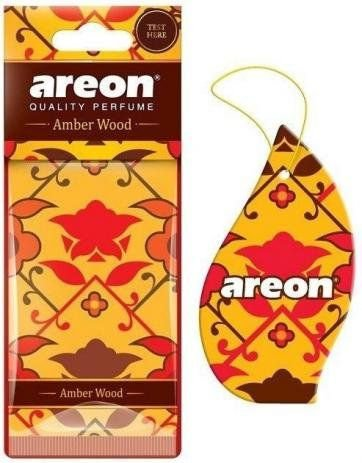 Aromatizante Automotivo Mon Areon Amber Wood O Melhor