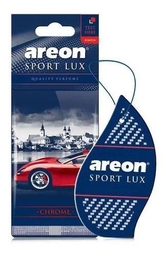 Aromatizante Automotivo Areon Sport Lux Chrome O Melhor