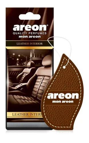 Aromatizante Automotivo Mon Areon Leather Interior O Melhor