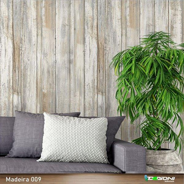 Papel de Parede Adesivo Madeira