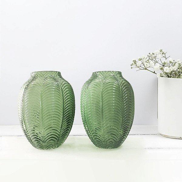 Conjunto Vasos Verdes