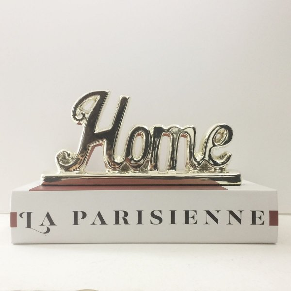 Adorno Palavra Decorativa Home