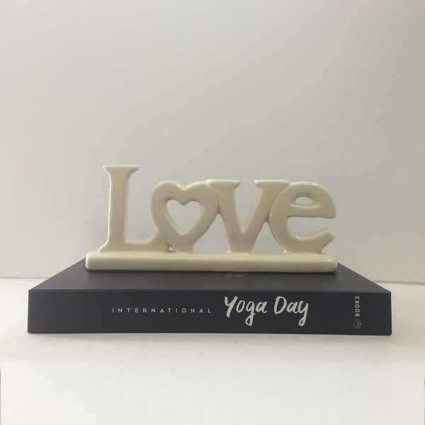 Adorno Palavra Decorativa Love