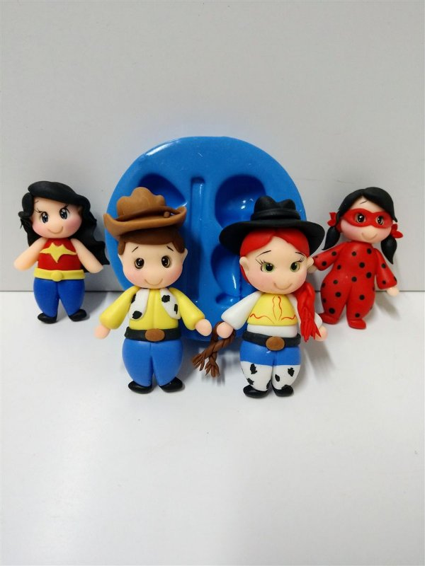 Molde de Silicone Toy Story