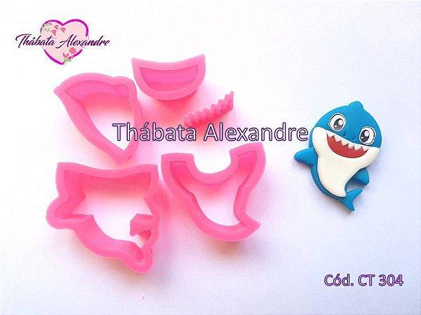 Cortador Bebe Tubarão 4 cm