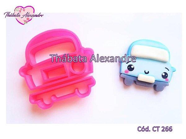 Cortador Carrinho Cute - 6cm