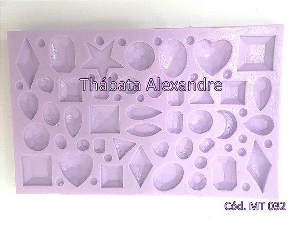 Textura de Silicone - Pedras Preciosas
